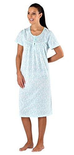 i-Smalls -  Camicia da notte  - Camicione - Maniche corte - Donna Nero