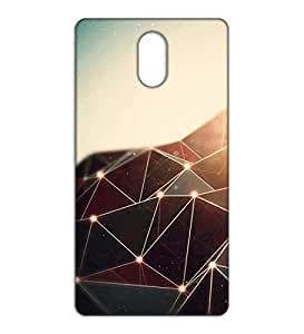 Happoz pyramid design Lenovo Vibe P1m pouch Mobile Phone Back Panel Printed Fancy Pouches Accessories Z214
