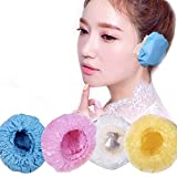Kapmore 100PCS Ear Cover Waterproof Disposable Ear Protector Cover Ear Cap