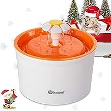 Hommii HP-88 Fuente de Agua para Perros y gatos 1.6L Eléctrico Automático 1.6