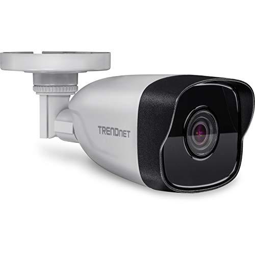 TRENDnet IP328PI Caméra réseau 4 MP (2560 x 1440) H.265 PoE avec Protection Contre Les intempéries IP67, Vision Nocturne Infrarouge jusqu'à 30 m