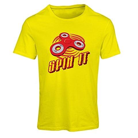 Frauen T-Shirt Spin It - für wer liebt es, das