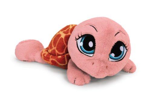 Nici 34842 - Schildkröte liegend 15 cm, rosa