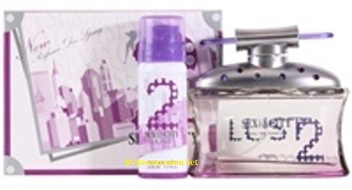 Sex In The City Lust Eau de parfum 50 ml & 100 ml deodarant Coffret cadeau