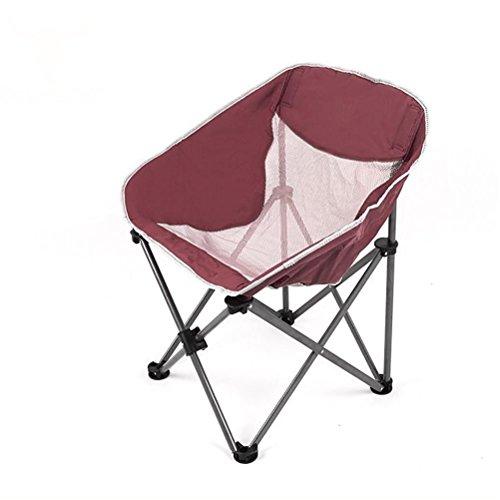 CRUTCH Tragbare Folding Camping Hocker Stuhl-Sitz für Picknick Grill-Strand mit Tasche, emerald green