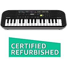 (CERTIFIED REFURBISHED) Casio SA-47H5 Electronic Keyboard (Black)