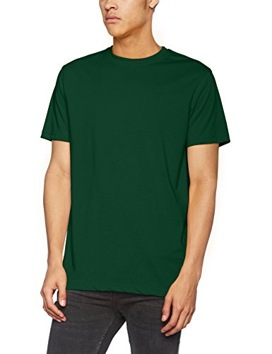 James & Nicholson Herren Men's Workwear T-Shirt Blau (Dark-Green)