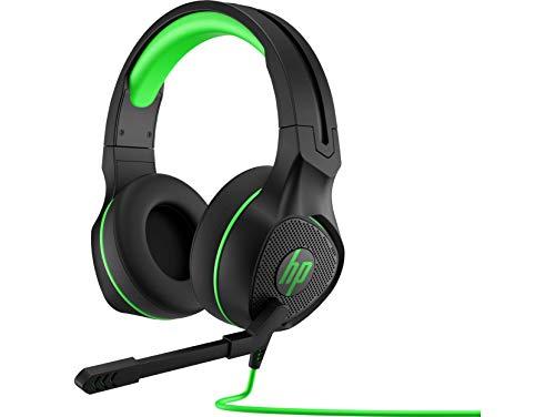 HP Pavilion 400 (4BX31AA) kabelgebundenes Gaming Headset, schwarz / grün -