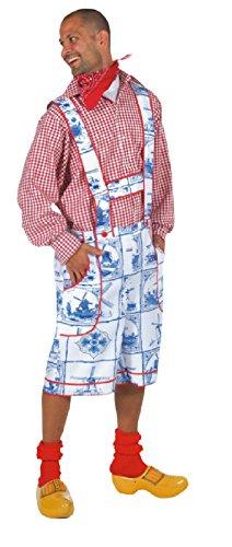 M210230-S Herren Holland Kostüm Holländer Trachtenhose - Holland Kostüm