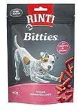 Rinti Hundesnacks Extra Mini-Bits Karotte & Spinat 100 g,12er Pack (12 x  100 g)
