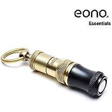 Eono Essentials Cigar Punch Rame retrattile inciso e avvitato 2 lame taglia nero con accessori dorati per fumatori (7mm e 9mm) con fibbia