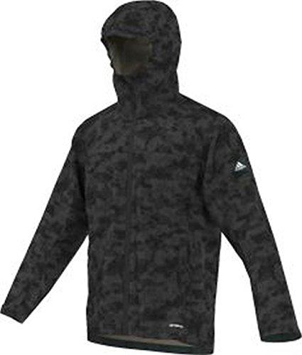 adidas Herren Outdoor Wandertag Aop Jacket Jacke, schwarz, 48 (Adidas Aop Jacke)