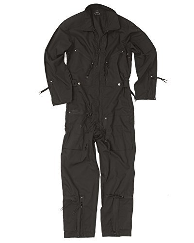 Mil-Tec BW Pilot suit olive NEW - Black, 56