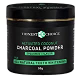 Best Teeth Whitening Products - Organic Charcoal Teeth Whitening Powder - ENAMEL SAFE Review