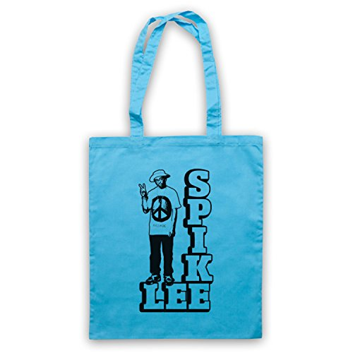 Inspire par Spike Lee Peace Officieux Sac d'emballage Bleu Clair