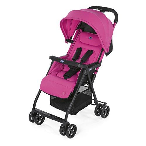 Chicco Ohlala - Silla de paseo ultraligera y compacta, 3,8 kg, color rosa