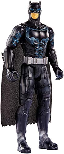 Justice League- Figura Batman, Multicolor, 30 centímetros (Mattel FPB51)