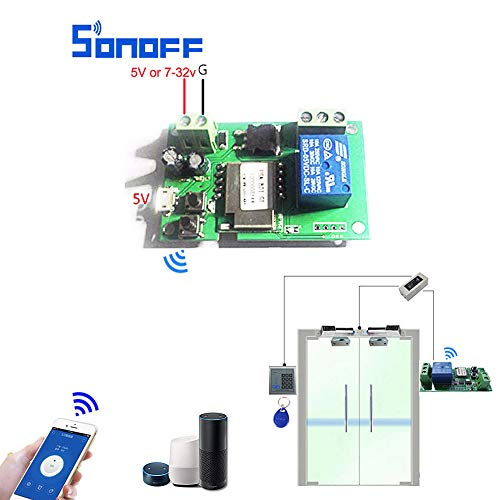 Sonoff DC5V 12V 24V 32V Wifi Switch