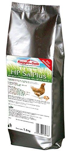 RAGGIO DI SOLE HP SalPlus sali mangime complementare minerale per avicoli polli galline 1,5 kg
