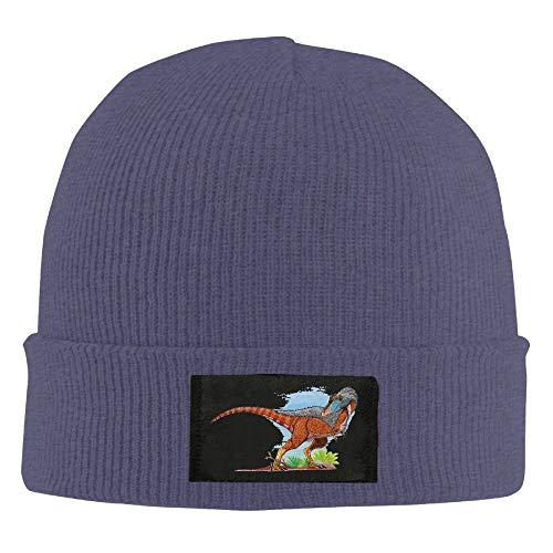 Wolf Star Moon Winter Warm Knit Hats Skull Caps Stretchy Cuff Beanie Hat Unisex Multi