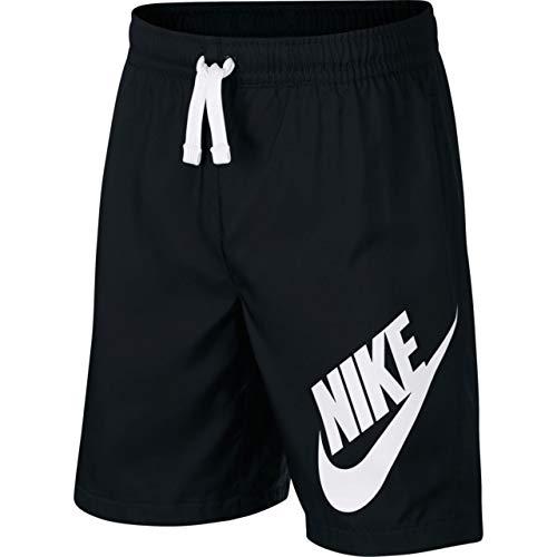 Nike Jungen Sportswear Shorts, Black/White, XL
