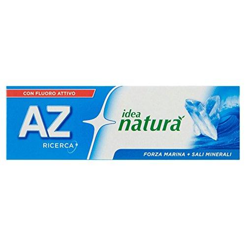 AZ Idea Natura Dentifricio Forza Marina + Minerali, 75 ml, 1 tubetto