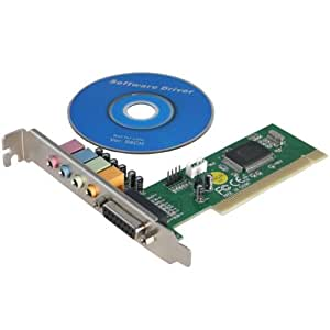 2-TECH - - Carte son PCI 5.1 avec Gameport