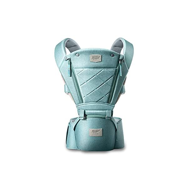 SONARIN 3 in 1 Breathable Hipseat Baby Carrier,Front Opening Design,Sun Protection,Multifunction,Adapted to Your Child's Growing, 100% Guarantee and Free DELIVERY,Ideal Gift(Green) SONARIN Applicable age and Weight:0-36 months of baby, the maximum load: 25KG, and adjustable the waist size can be up to 47.2 inches (about 120 cm). Material:designers carefully selected soft and delicate Cationic twill cloth. Resistant to wash, do not fade, ensure the comfort and wear resistance, Inner pad: EPP Foam,high strength,safe and no deformation,to the baby comfortable and safe experience. Description:patented design of the auxiliary spine micro-C structure and leg opening design, natural M-type sitting.Widened shoulder strap, Widened seat surface, thickened cushion, let the baby and mother enjoy the joy. H-type bridge belt, effectively fixed shoulder strap position, to prevent shoulder straps fall, large buckle, intimate design, make your baby more secure. 1