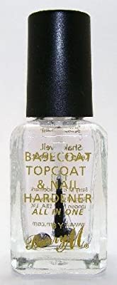 Barry M Nail Paint - Clear 3in1 Basecoat, Topcoat & Nail Hardener (54)