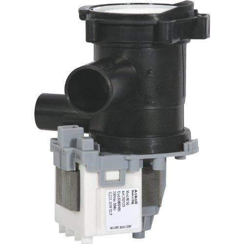 Alternativ Magnet Laugenpumpe, Leistung: 230 V / 50 Hz / 30 Watt, Einlauf: 24mm, Ablauf: 20mm wie Original Nr: 144305, passend für: Bosch und Siemens Geräte
