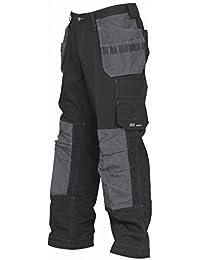 Helly Hansen - Pantalones de construccion con bajo ajustable Modelo West Ham hombre caballero