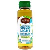Madhava Agave Nectar Natural Sweetener, Light, 11.75 oz