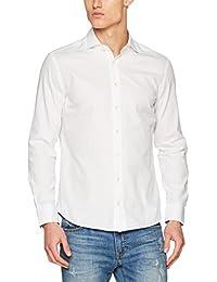 Hackett London Dover Multi Trim, Camisa para Hombre