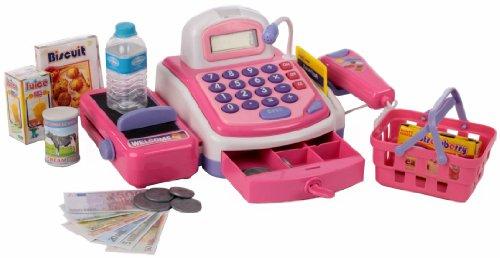Haberkorn My Cash Register - 261780 Caisse Rose Scanner à © Caisse Magasin Beaucoup Accessoires R