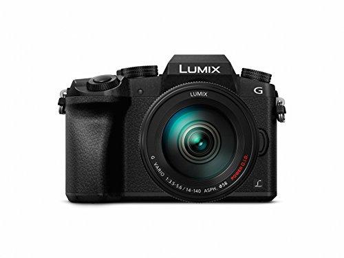 Panasonic Lumix DMC-G7/DMC-G70 14-42/3.5-5.6 Lumix G Vario OIS ASPH Appareils Photo Numériques 16.84 Mpix Noir - Version française