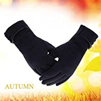 BaBaSM Praktisch Touch Screen Fleece Handschuhe, Frauen Unisex Warm Touch Screen Fleece Handschuhe No-Slip Radfahren Outdoor Windproof Ski Handschuhe