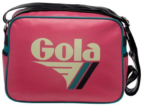 Gola Classics, Redford, Unisex_Adulto Verde (Pink/Ecru/Black/Green)