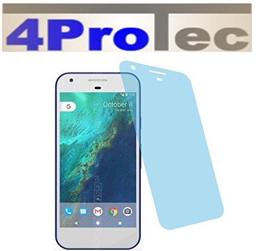 4ProTec 2 Stück Panzerfolie Displayschutzfolie CC Panzerschutzfolie für HTC Google Pixel Bildschirmschutzfolie Schutzhülle Displayschutz Displayfolie Folie Htc 3g Smartphone