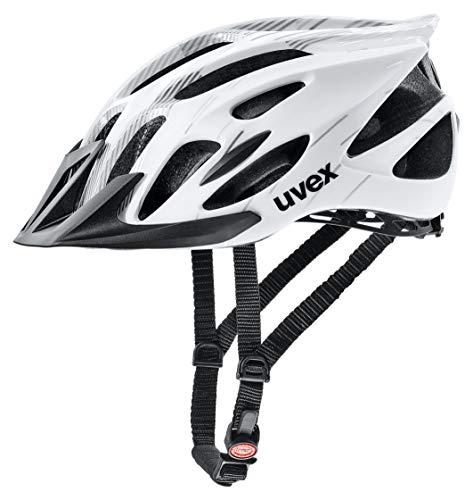 Uvex Unisex- Erwachsene Flash Radhelm, White Black, 53-56