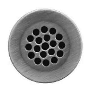 Alfi Trade WH735-BN 2.12 in. - 1.50 in. grid drain- Brushed Nickel