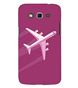 Aeroplane Clipart 3D Hard Polycarbonate Designer Back Case Cover for Samsung Galaxy Grand Neo :: Samsung Galaxy Grand Neo i9060