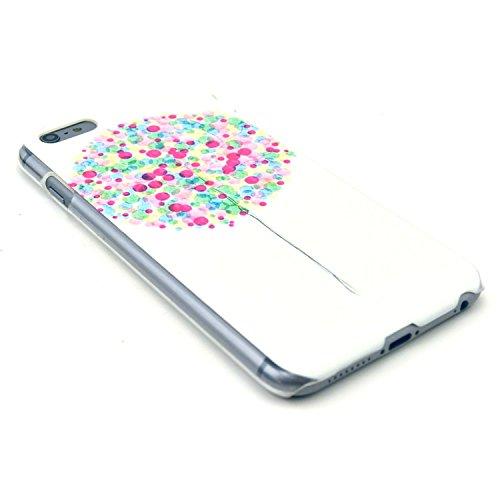 TIODIO® 4 en 1 Etuis Case Protecteur Hard Arrière Housse Coque Etui Case Cover pour Apple iphone 6S Plus /iPhone 6 Plus housse étui case cover, Stylus et Film protecteur inclus, B06 B09