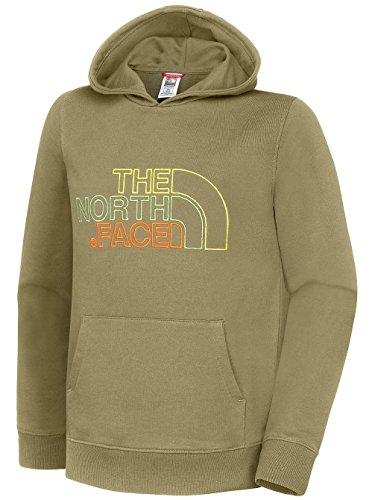 The North Face Drew Peak Kids Pullover Hoodie grün - Burnt Olive Green