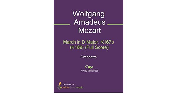 List of existing Mozart compositions