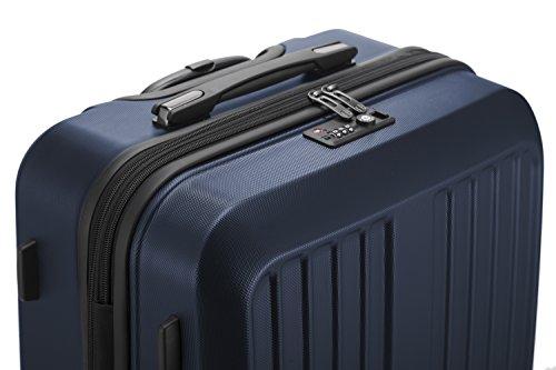 HAUPTSTADTKOFFER - X-Berg - Koffer Trolley Hartschalenkoffer, TSA, 65 cm, 90 Liter, Dunkelblau - 8
