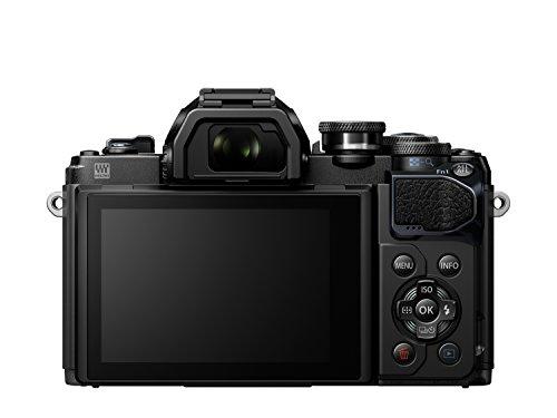 Olympus OM-D E-M10 Mark III Systemkamera (16 Megapixel, 5-Achsen VCM Bildstabilisator, elektronischer Sucher mit 2,36 Mio. OLED, 4k Video, WLAN) Kit silber inkl. 14-42mm Objektiv silber + M.Zuiko Digital ED 40-150 mm Objektiv schwarz - 4