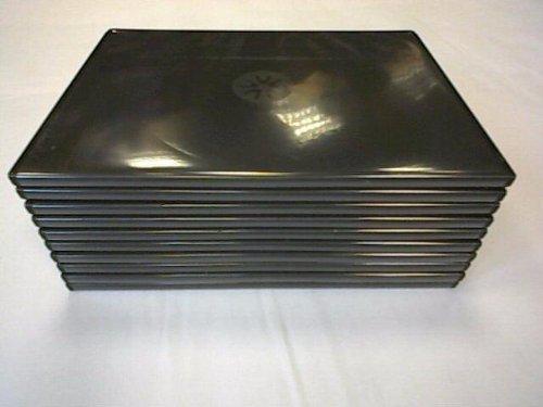 Cover per DVD Slim Nera 7mm - 10 Confezioni