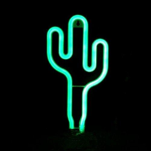 n LED Dekor Nachtlicht Wand Dekor für Weihnachtsdekoration Geburtstag Party Startseite LED Dekoleuchten Hochzeit Event Bankett Party Decor, Batterie und USB Power (grün) ()