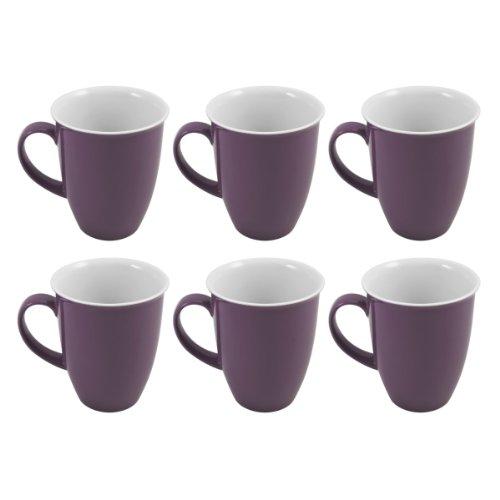 Ritzenhoff & Breker 6 Kaffeebecher 320ml Doppio lila - Flirt
