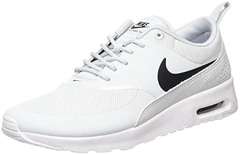 Nike Air Max Thea 599409 Damen Laufschuhe, Elfenbein (Pure Platinum/black/white), 36 EU (Nike Air Max Thea Black)
